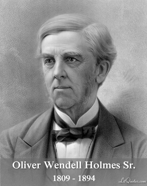 The Autocrat of the Breakfast Table by Oliver Wendell Holmes, Sr.