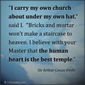 Human Heart is the Best Temple
