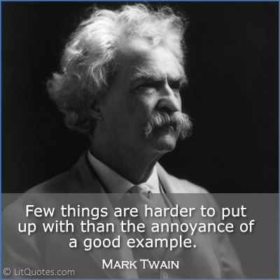 Mark Twain Quote Photo