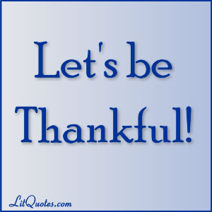 Thankfulness Quotes