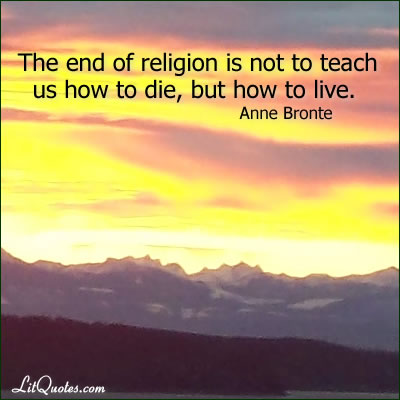 Anne Bronte Quote Photo