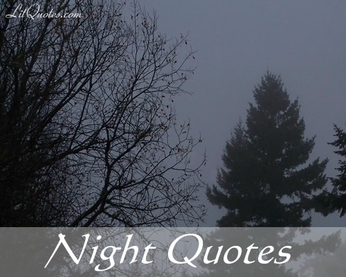 Quotes About Night