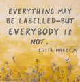 Quote about Labels