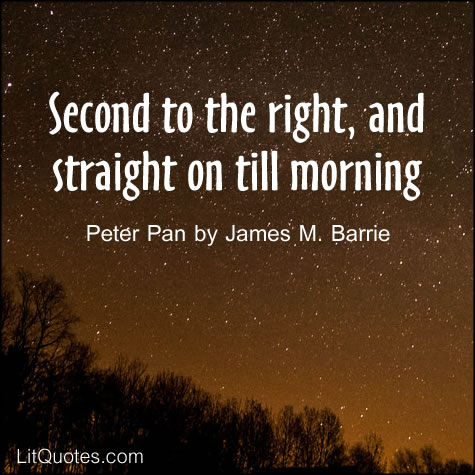 Peter Pan by James M. Barrie